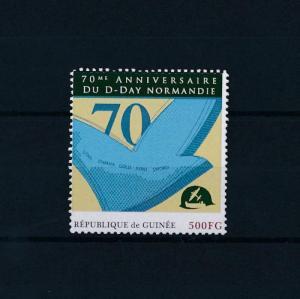 [80872] Guinea 2012 Second World war D-day Normandy MNH