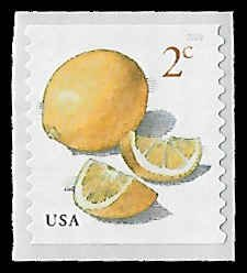 PCBstamps     US #5256 2c Meyer Lemon, coil, MNH, (1)
