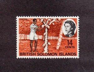 Solomon Islands Scott #187 MNH