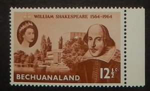 Bechuanaland 197. 1964 Shakespeare, NH
