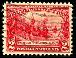 U.S. #329 Used F-VF