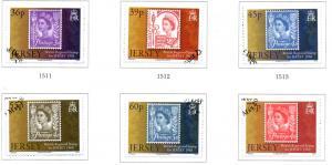 Jersey Sc 1436-41 2010 Regional Definitives stamp set used