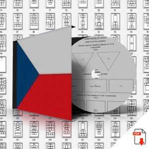 CZECH REPUBLIC STAMP ALBUM PAGES 1918-2011 (500 PDF digital pages)