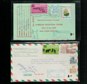 MEXICO -2 registered covers