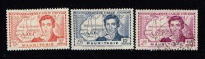 FRANCE COLONIES  MAURITANIE  USED STAMPS COLLECTION LOT