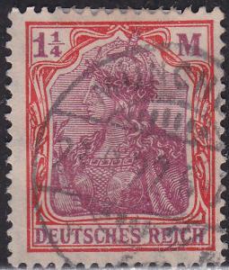 Germany 130 USED 1920 Germania 1.25Mk