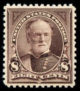 momen: US Stamps #272 Mint OG XF-SUP APS Cert