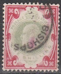 Great Britain #138  F-VF Used  CV $40.00 (S3050)
