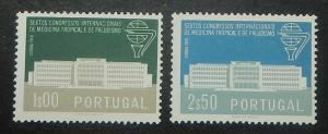 Portugal 836-37. 1958 Tropical Medicine Congress