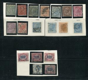 Italy Lot of earlies  Used F-VF -  LSP