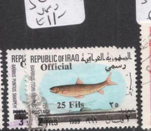 Iraq Fish SG O985-6 VFU (2dhj)