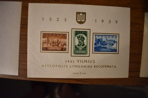LITHUANIA  316A   MNH
