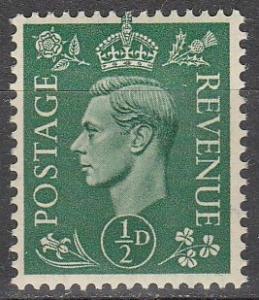 Great Britain #258   MNH   (K876)