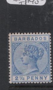 Barbados SG 94 MOG (6dnk)