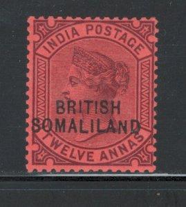 Somaliland 1903 Overprint 12a Scott # 15 MH
