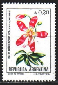 Argentina. 1985. 1754y from the series. Flowers, flora. MNH.