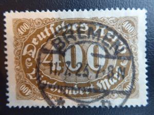 Germany 1922  Sc.#159 CV.$2.25  used