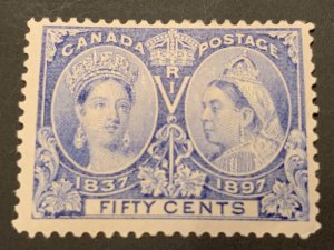 Canada #60 MINT F-VF Jubilee C$325.00