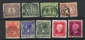 Netherlands   9 different   -1    used  PD