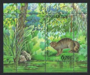 Moldova Wildcat Animals MS SG#MS555