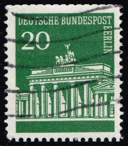 Germany #9N252 Brandenburg Gate; Used (0.25)