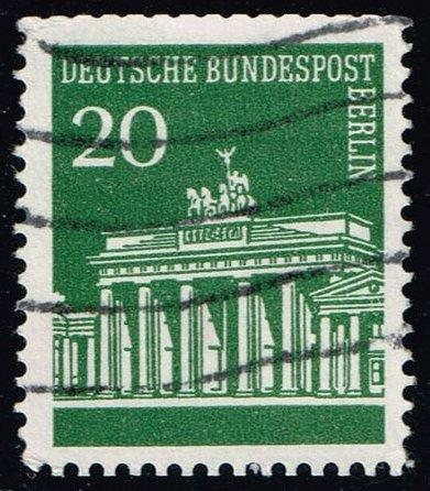 Germany #9N252 Brandenburg Gate; Used (0.25)