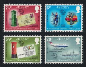 Jersey Centenary of UPU 4v SG#107-110