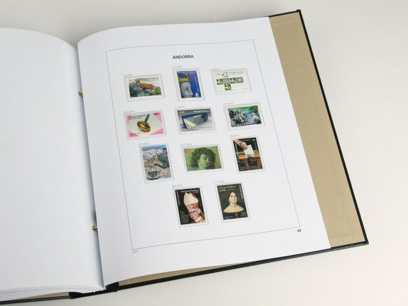 DAVO Luxe Hingless Album Andorra (Spain) 1928-2018
