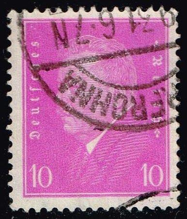 Germany #372 Pres. Friedrich Ebert; Used (0.80)