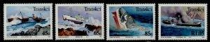 Transkei 299-302 MNH Shipwrecks