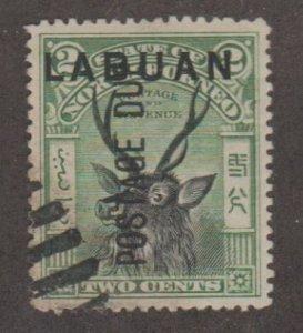 Labuan Scott #J1 Stamp - Used Single
