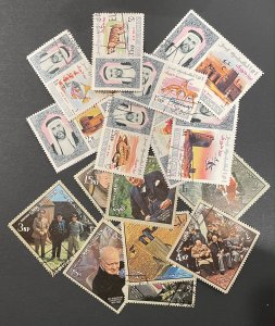 Umm Al Qiwain Approximately 15 Stamps Mint/Used/CTO