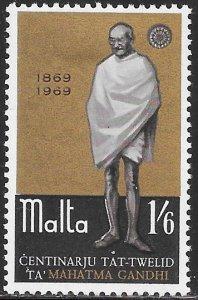 Malta 397 Unused/Hinged -  Birth Centenary of Mahatma Gandhi