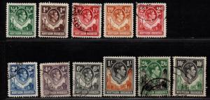 $No. Rhodesia Sc#25//45 used-mint/H/VF, part set, Cv. $47.50
