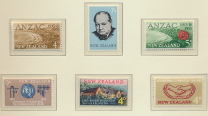 New Zealand Stamps Scott #368 To 376, Mint Hinged, 1965 Issues Missing 1 - Fr...