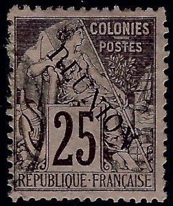 Reunion Sc #24 Used F-VF SCV$7.50...French Colonies are Hot!