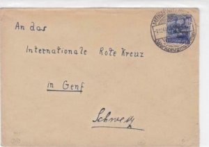 Germany Soviet Zone 1948 Red Cross Ghent  stamps cover  R20746