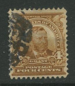 STAMP STATION PERTH USA #303 Grant Used 1902-1903 CV$2.50.