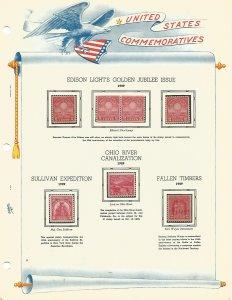 USA Postal Stamps MNH