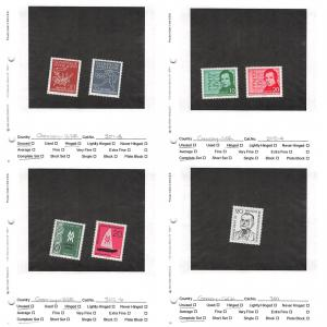 Lot of 82 Germany DDR MNH & MH Stamps Scott Range # 301 - 400 #141352 X R