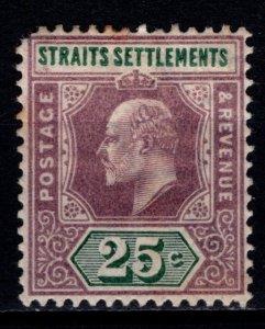 Straits Settlements 1902 Edward VII Definitive, 25c [Used]