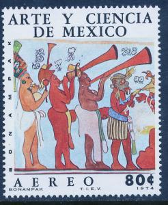 MEXICO C439 Art & Science (Series 4) Musicians. MINT, NH. VF.