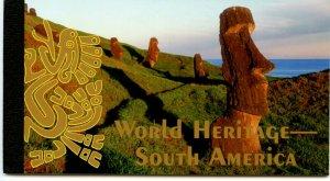 UNITED NATIONS Sc# NY 943 GE 474 VI 402 2007 World Heritage Souv Booklets MNH