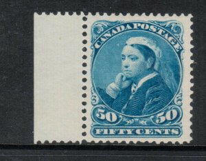 Canada #47 Extra Fine Never Hinged Left Margin Example **With Certificate**