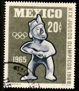 MEXICO 965 20c 1st Pre-Olympic Issue - 1965 Used VF. (3)