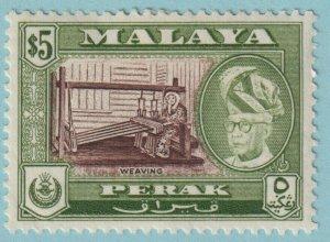 MALAYA PERAK 137 MINT HINGED  OG * NO FAULTS EXTRA  FINE
