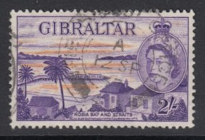 Gibraltar, Sc 142 (SG 155), used