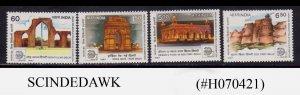 INDIA - 1987 INTERNATIONAL STAMP EXHIBITION 4V MNH