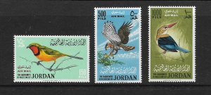 BIRDS - JORDAN #C26-28    MNH