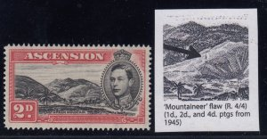 Ascension, SG 41ca, MLH Mountaineer Flaw variety